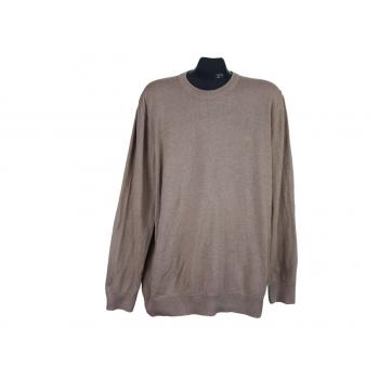 Джемпер мужской коричневый S.OLIVER, XL