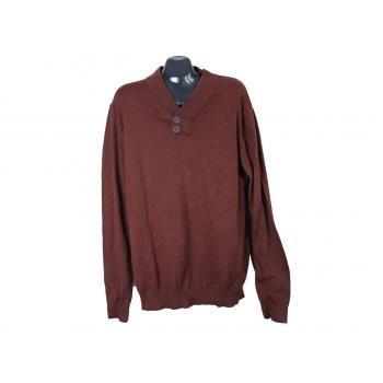 Джемпер мужской коричневый BRICE, XL