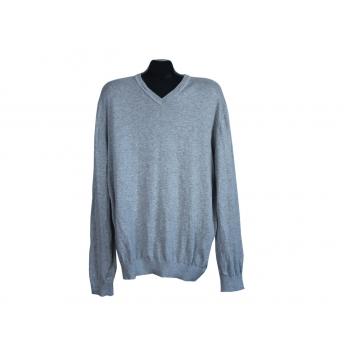 Пуловер мужской серый CHARLES VOEGELE, XL