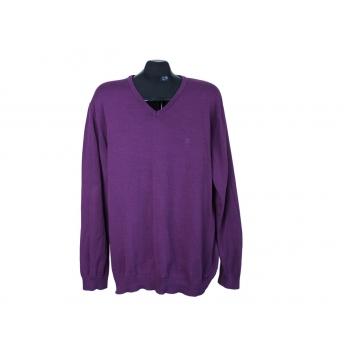 Пуловер мужской фиолетовый ESPRIT, XL