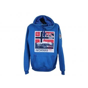 Толстовка мужская синяя GEOGRAPHICAL NORWAY, L