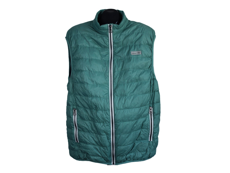 Жилет пуховый зеленый мужской LEROSS, XL