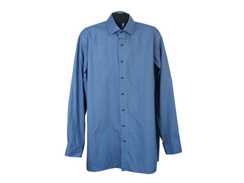Рубашка синяя мужская MODERN FIT OLYMP LUXOR, XL