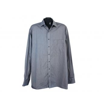 Рубашка мужская серая ETERNA BLACK LINE, XL