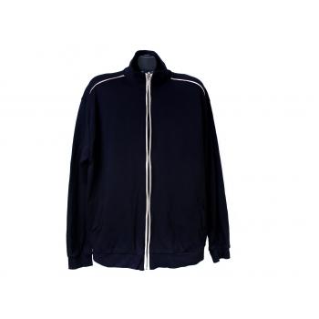 Кофта синяя на молнии мужская, XL