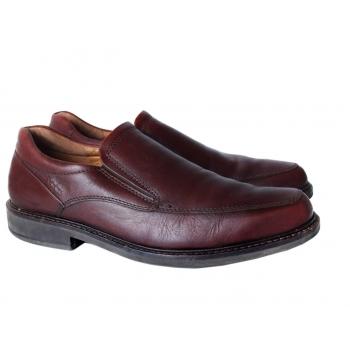 Туфли кожаные коричневые мужские ECCO 43 размер