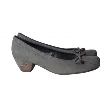 Туфли серые замшевые женские VA MILANO 39 размер