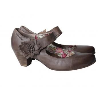 Туфли кожаные женские TAMARIS 39 размер