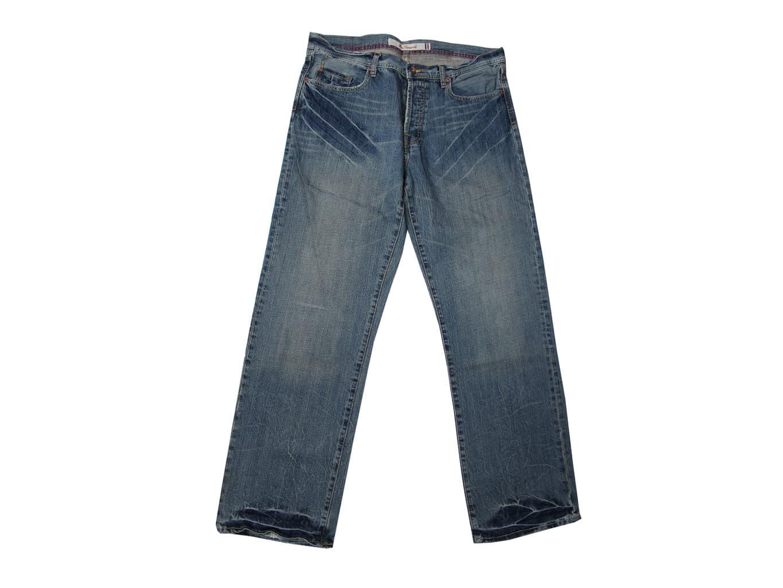 Джинсы широкие мужские BEN SHERMAN W 38 L 34