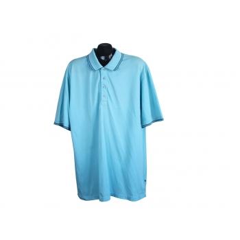 Поло голубое мужское ESPRIT, XL