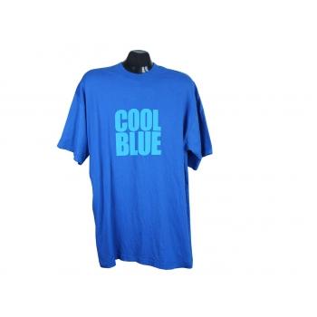Футболка синяя мужская COOL BLUE, L