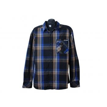 Рубашка в клетку мужская CULT EDITION, XL