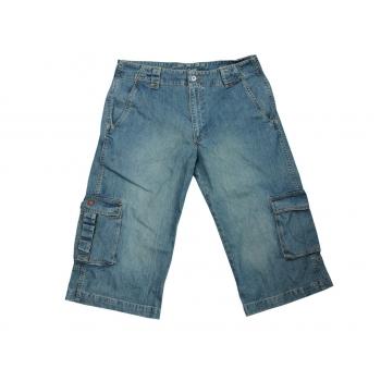 Шорты джинсовые длинные мужские QUIKSILVER W 36