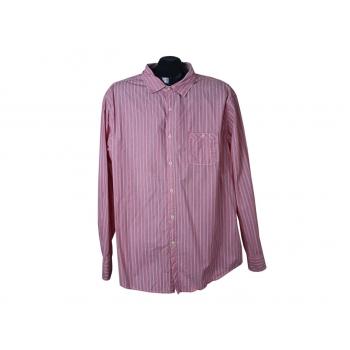 Рубашка розовая в полоску мужская SAINT GEORGE by DUFFER, XL