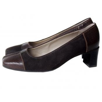 Туфли кожаные коричневые женские ARA 38 размер