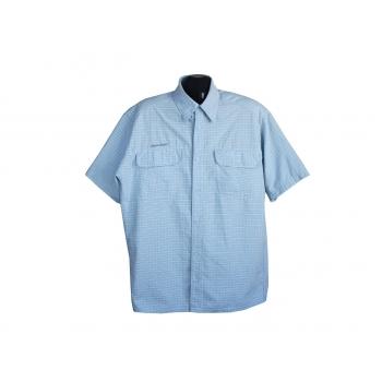 Рубашка мужская голубая QUECHUA, XL