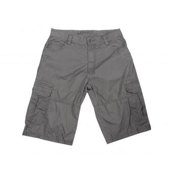 Шорты карго серые мужские LERROS W 30