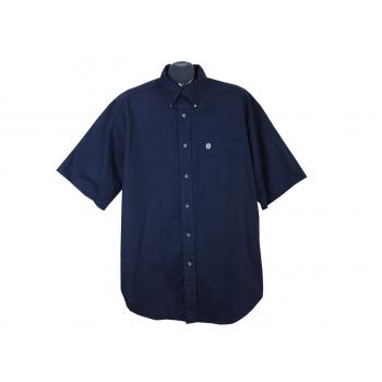 Рубашка синяя мужская BANANA REPUBLIC, XL