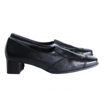 Туфли кожаные черные женские COMFORT GABOR 41 размер