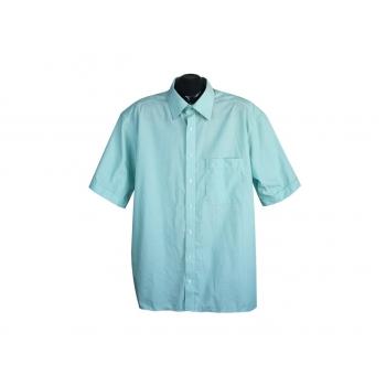 Рубашка мужская бирюзовая ETERNA EXCELLENT, XL