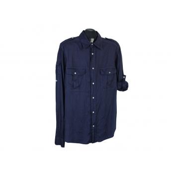 Рубашка льняная мужская REGULAR FIT MARINA YACHTING, L
