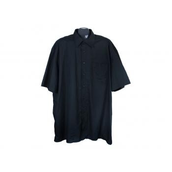 Рубашка черная мужская JUPITER, 3XL