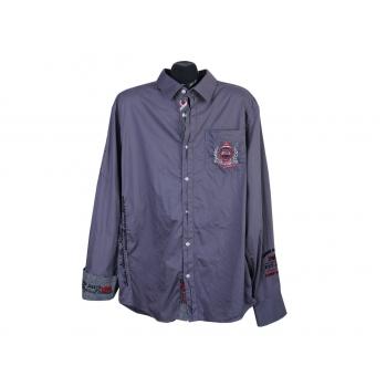 Рубашка серая мужская CAMP DAVID, XL