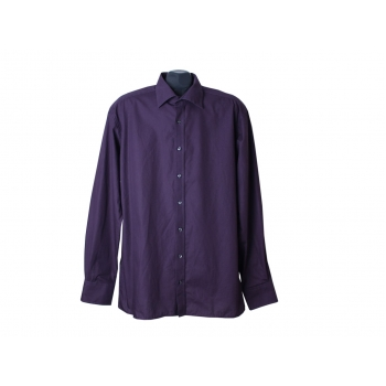Рубашка фиолетовая мужская ETERNA EXCELLENT REDLINE, XL