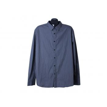 Рубашка мужская серая в полоску URBAN SPIRIT, XL