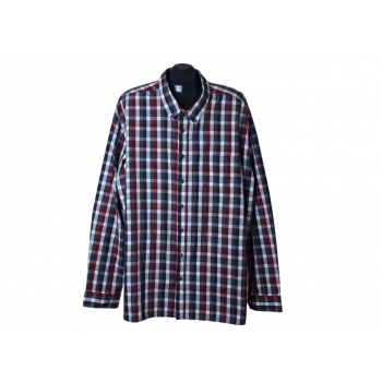 Рубашка в клетку мужская VRS EASY CARE, 4XL