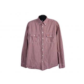 Рубашка красная в клетку мужская CAMEL ACTIVE, XL