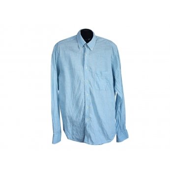 Рубашка льняная в полоску мужская MARC STANFORD, L