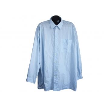 Рубашка голубая мужская GOLDRESS, 4XL