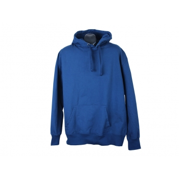 Худи кенгурушка синяя с капюшоном мужская ANGELO LITRICO, XXL