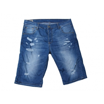 Шорты джинсовые рваные мужские FRANKIE MORELLO W 36