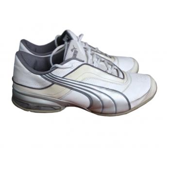 Кроссовки белые кожаные мужские PUMA 43 размер