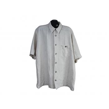 Мужская бежевая рубашка SIGNUM, 4XL