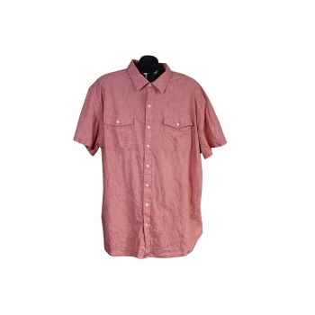 Рубашка коралловая мужская OLD NAVY SLIM FIT, 3XL