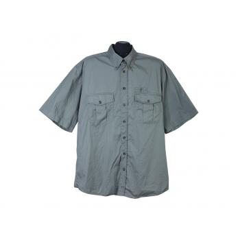Рубашка зеленая мужская MODEHAUS MILLE, XL