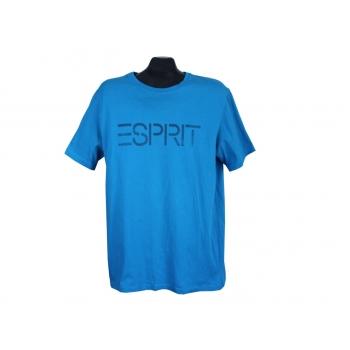 Футболка синяя мужская ESPRIT, L