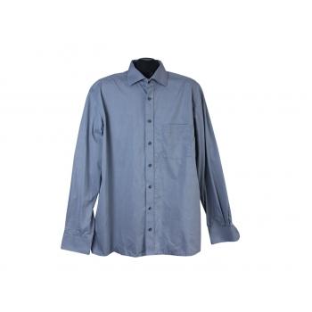 Рубашка серая однотонная мужская ETERNA MODERN FIT, L