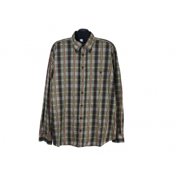 Рубашка зеленая в клетку мужская CAMEL ACTIVE, 3XL