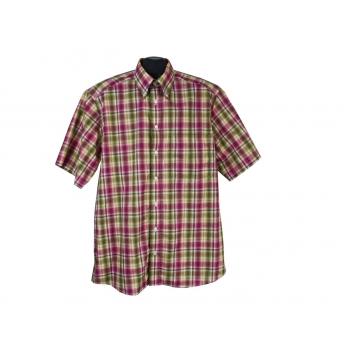 Рубашка в клетку мужская COMMANDER CLASSIC, L