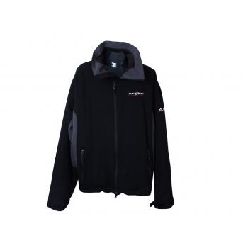 Куртка спортивная мужская черная EVEREST, XL