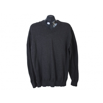 Пуловер из хлопка мужской серый ARMADA REGULAR FIT, L