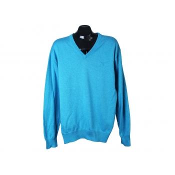 Пуловер голубой мужской GANT, XL