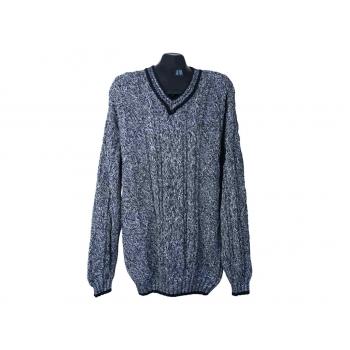 Пуловер мужской серый TOM TAILOR, 3XL