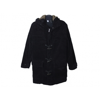 Пальто вельветовое с капюшоном мужское CELIO, L