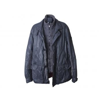 Куртка демисезонная черная мужская STONES, XL