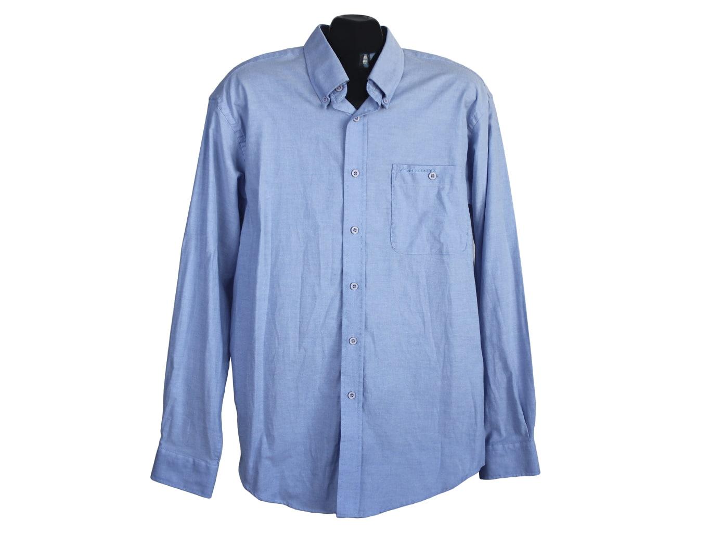 Мужская голубая рубашка LEE COOPER, L